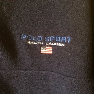 Polo by Ralph Lauren Sweaters - Vintage Polo Sport Half Zip Polar Fleece